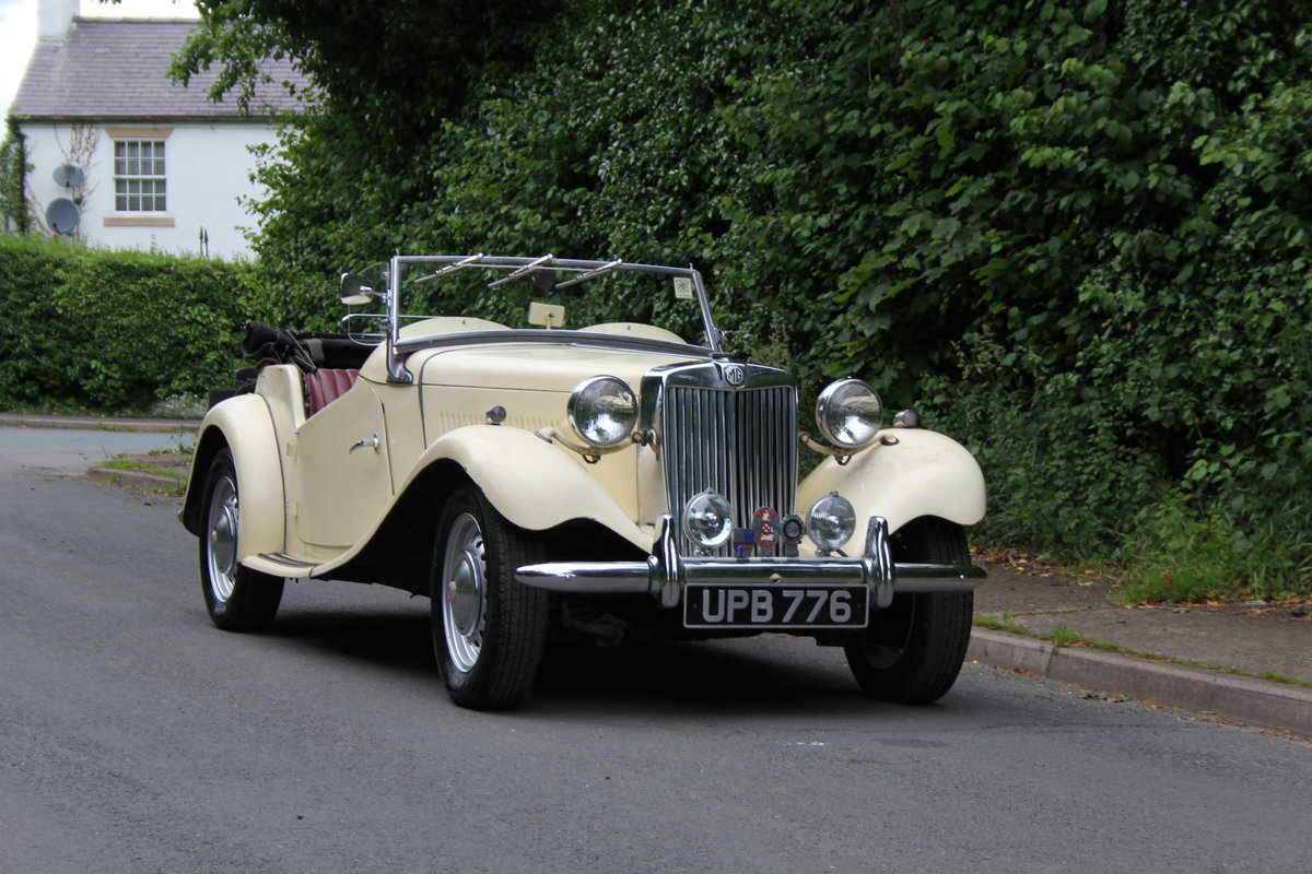 1953 MG TD/C Competition MK II - Very Original, Engine Rebuilt SOLD (picture 1 of 12)