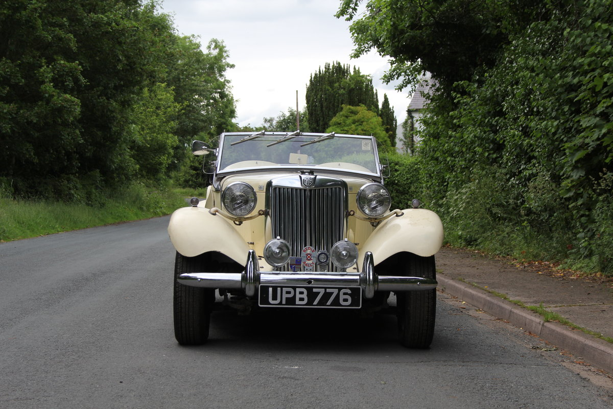 1953 MG TD/C Competition MK II - Very Original, Engine Rebuilt SOLD (picture 2 of 12)