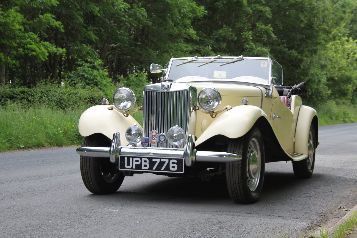 1953 MG TD/C Competition MK II - Very Original, Engine Rebuilt SOLD (picture 3 of 12)