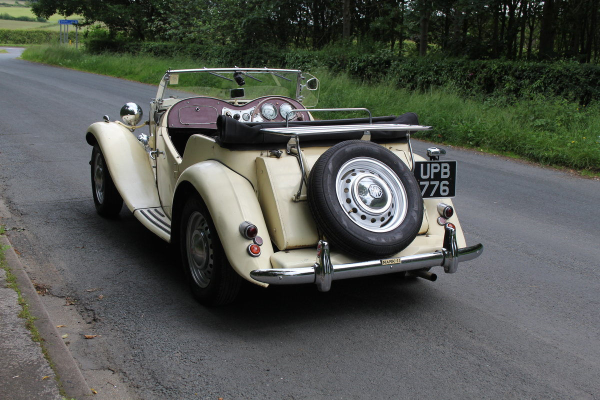 1953 MG TD/C Competition MK II - Very Original, Engine Rebuilt SOLD (picture 4 of 12)