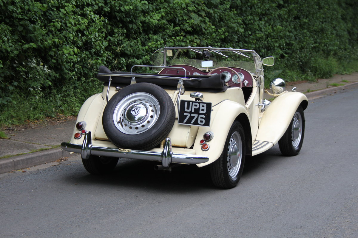 1953 MG TD/C Competition MK II - Very Original, Engine Rebuilt SOLD (picture 5 of 12)