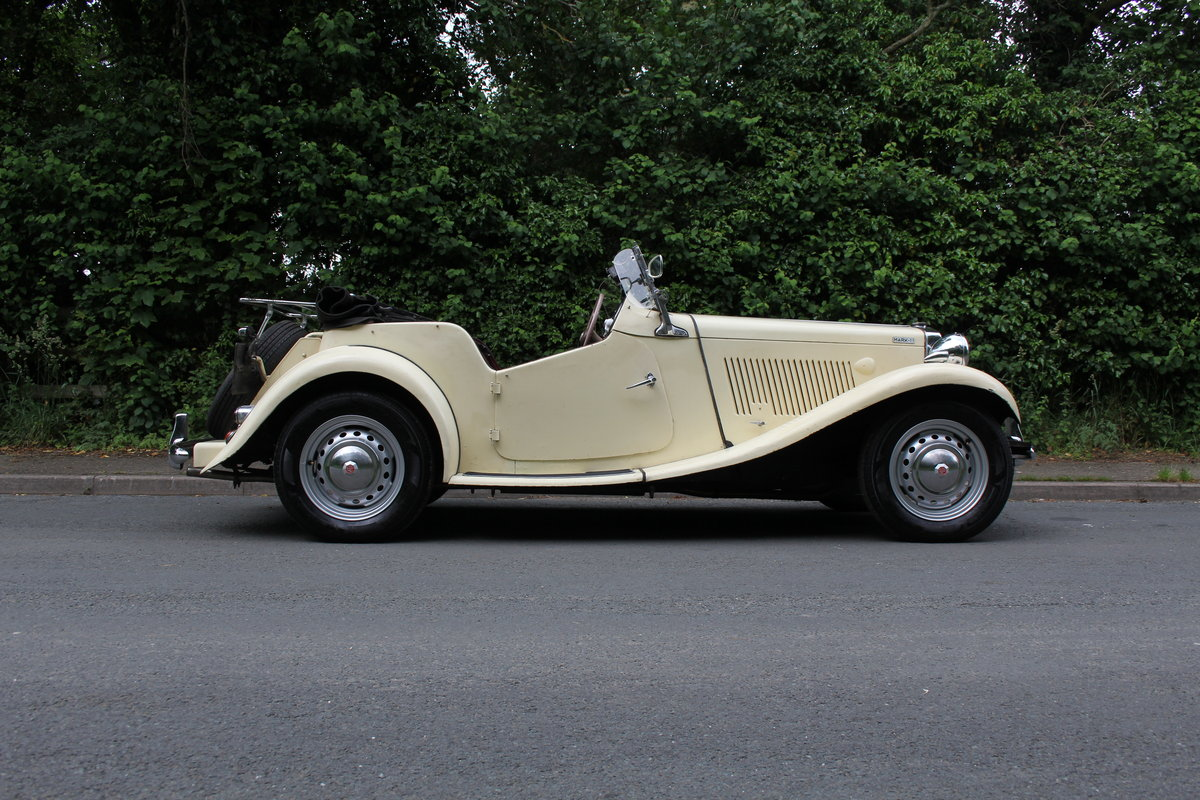 1953 MG TD/C Competition MK II - Very Original, Engine Rebuilt SOLD (picture 6 of 12)