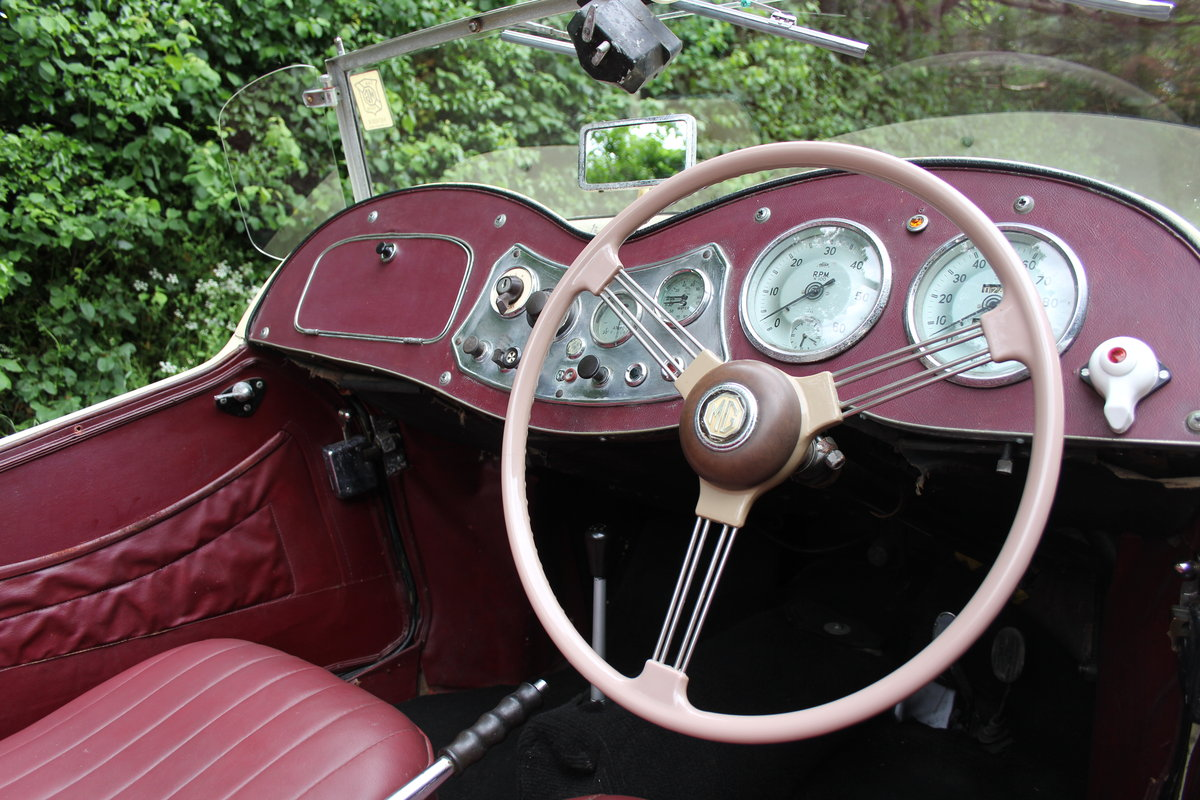 1953 MG TD/C Competition MK II - Very Original, Engine Rebuilt SOLD (picture 7 of 12)