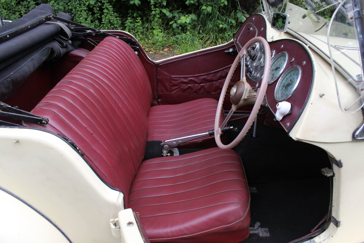 1953 MG TD/C Competition MK II - Very Original, Engine Rebuilt SOLD (picture 8 of 12)
