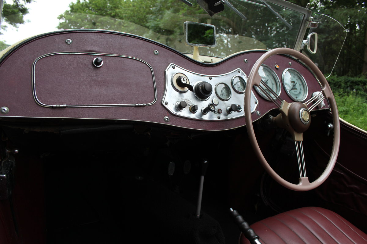 1953 MG TD/C Competition MK II - Very Original, Engine Rebuilt SOLD (picture 9 of 12)