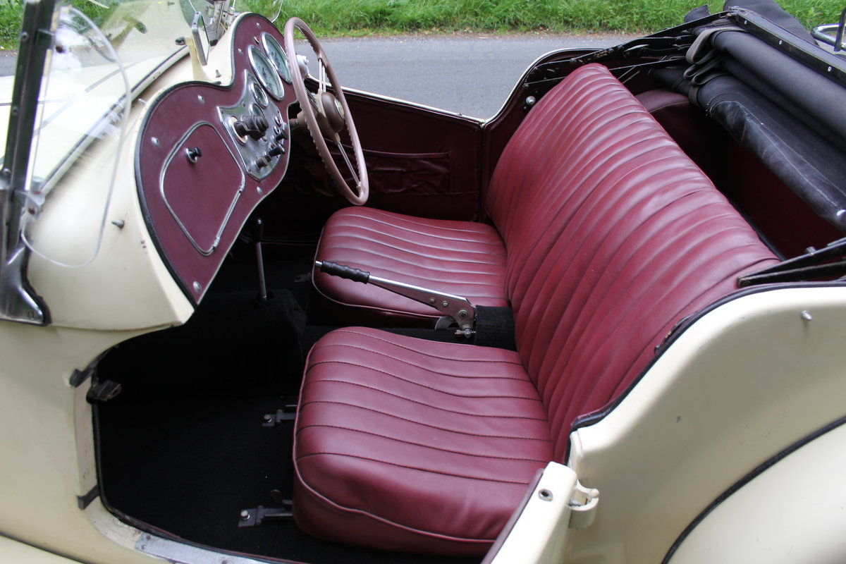 1953 MG TD/C Competition MK II - Very Original, Engine Rebuilt SOLD (picture 10 of 12)