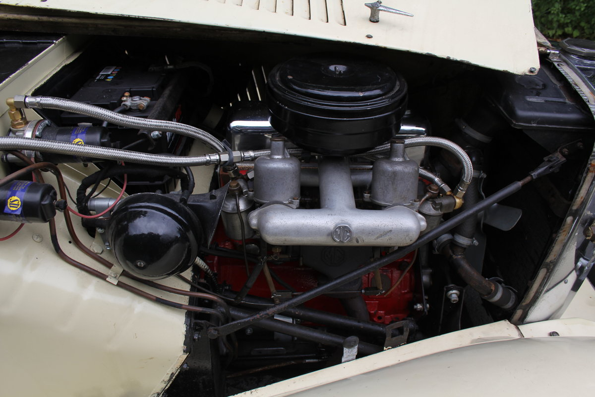 1953 MG TD/C Competition MK II - Very Original, Engine Rebuilt SOLD (picture 12 of 12)