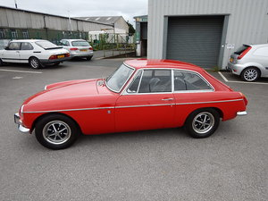 1971 MGB GT ~ One Registered Keeper ~  For Sale