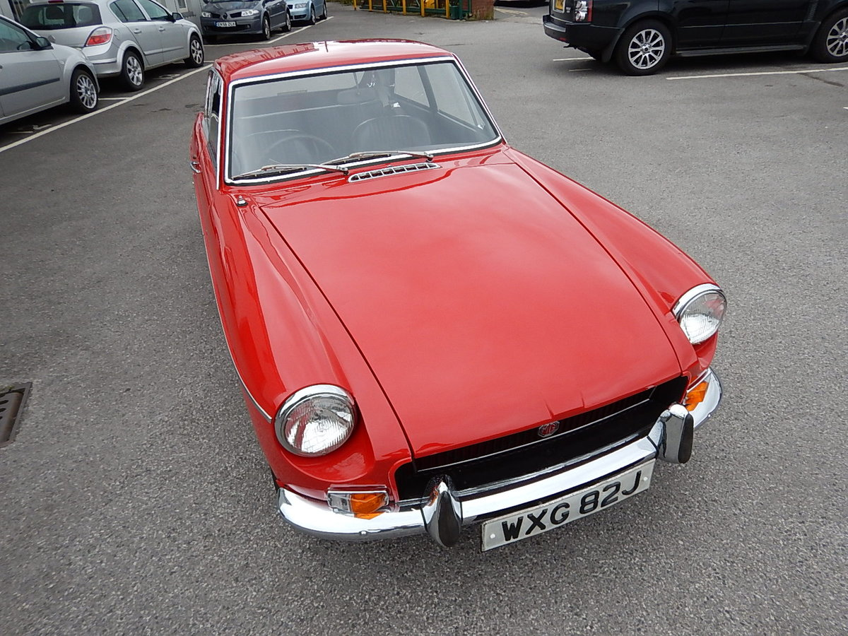 1971 MGB GT ~ One Registered Keeper ~  SOLD (picture 2 of 6)