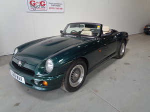 1994 Mg rv8 - uk car - brg - 15,000 mls - mint. For Sale