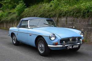 1964 MGB Roadster For Hire