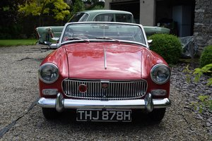 1969 MG MIDGET MARK III - PRETTY THING BUT SPACE NEEDED! For Sale