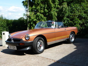 1981 MGB Roadster An exellent example only 61000 miles SOLD