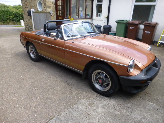 1981 MGB Roadster An exellent example only 61000 miles SOLD (picture 3 of 6)