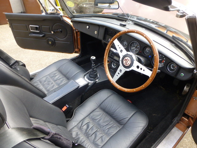 1981 MGB Roadster An exellent example only 61000 miles SOLD (picture 4 of 6)