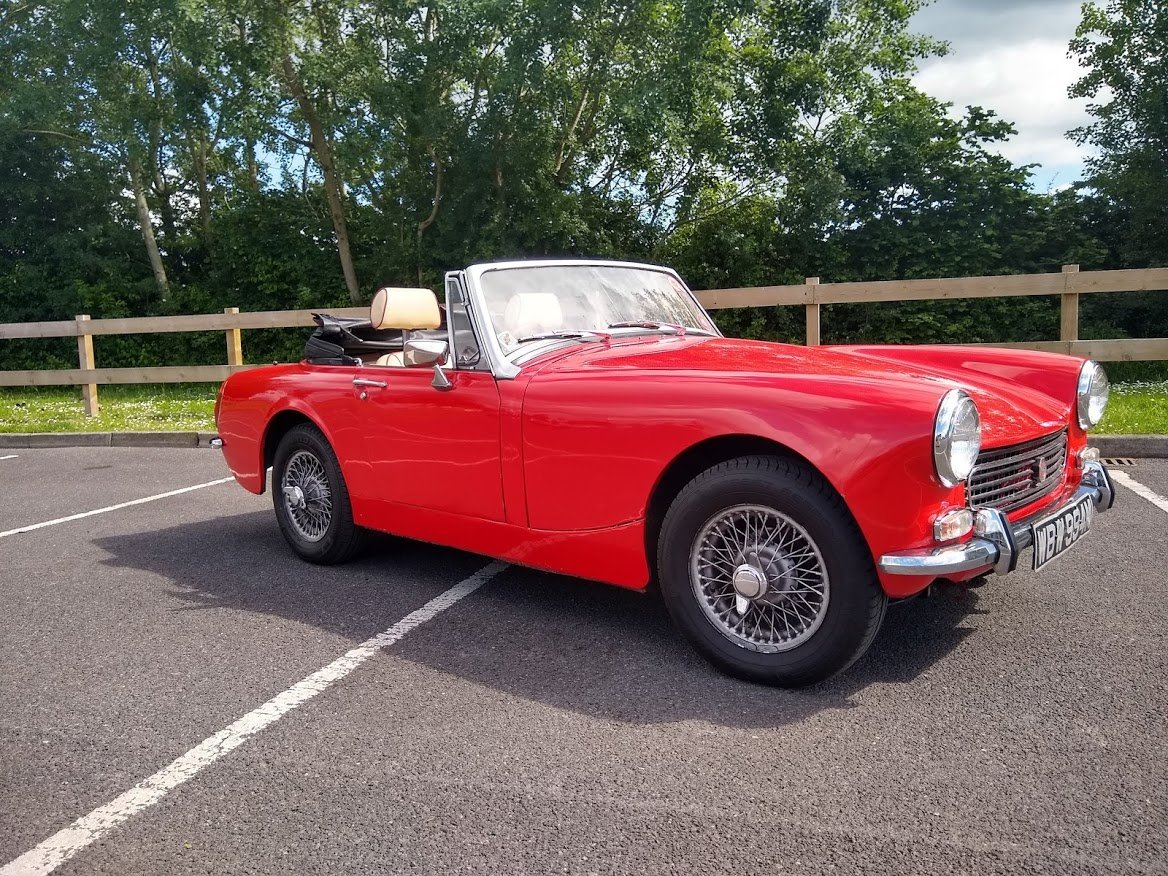 1973 MG Midget 1275 for Auction 12th July For Sale by Auction (picture 1 of 6)
