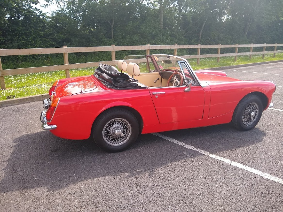 1973 MG Midget 1275 for Auction 12th July For Sale by Auction (picture 2 of 6)