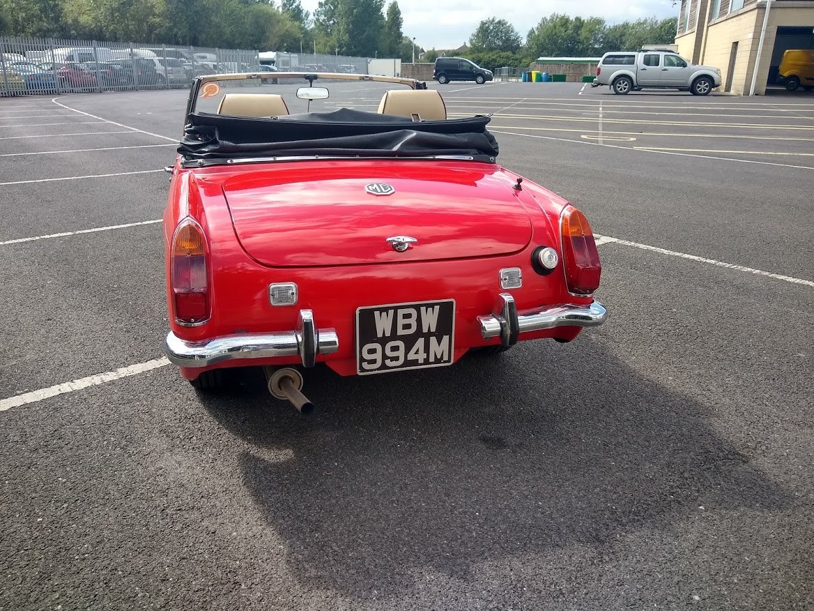 1973 MG Midget 1275 for Auction 12th July For Sale by Auction (picture 3 of 6)