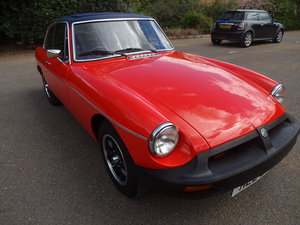 1978 Stunning MGB GT For Sale