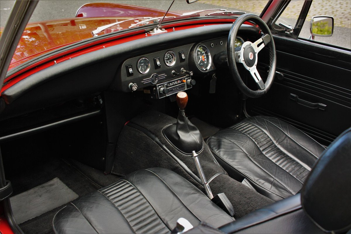 MG Midget MKIV RWA - Heritage Bodyshell Resto - Flame Red SOLD (picture 3 of 6)