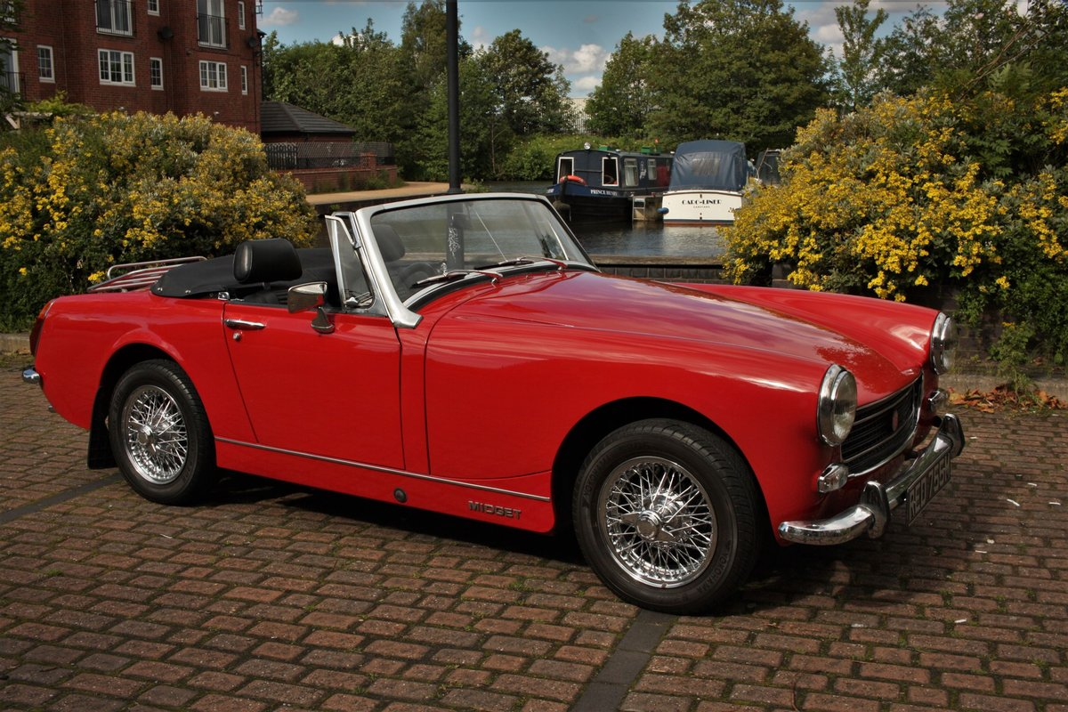 MG Midget MKIV RWA - Heritage Bodyshell Resto - Flame Red SOLD (picture 6 of 6)