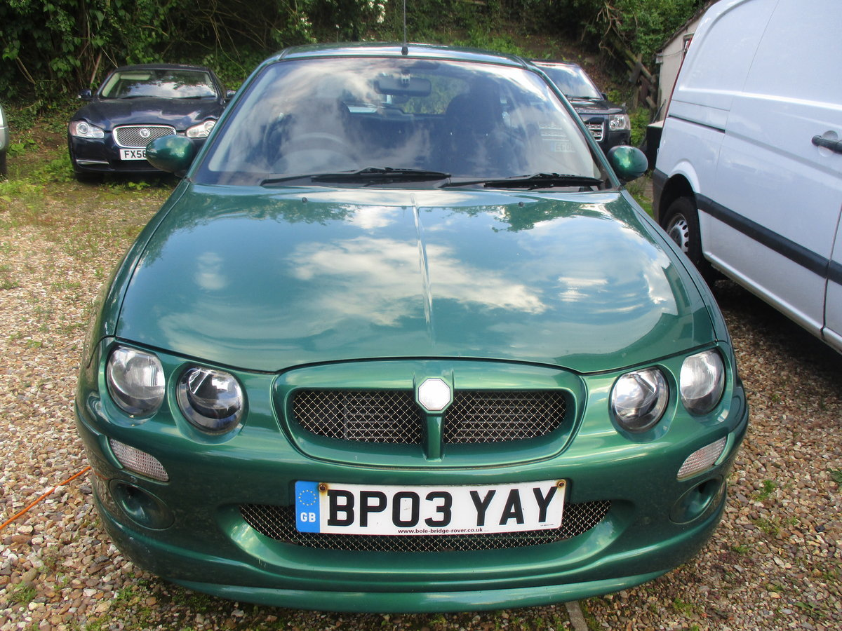 2003 MG 1400cc ZR 3 DOOR SPORTS SALOON 91K SUPER DRIVER JUNE MOT For Sale (picture 3 of 6)