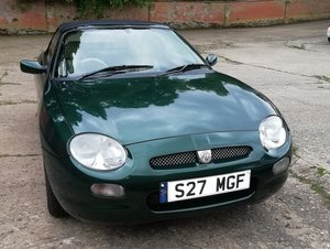 1998 MG MGF 1.8 vvc British Racing Green For Sale