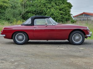 MG B Roadster, 1965, Damask, HERITAGE SHELL For Sale