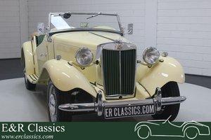 MG TD 1952 Ivory Restored For Sale