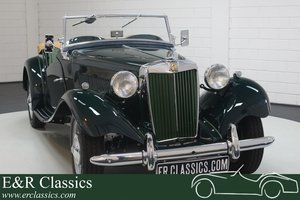 MG TD 1952 British Racing Green Restored For Sale