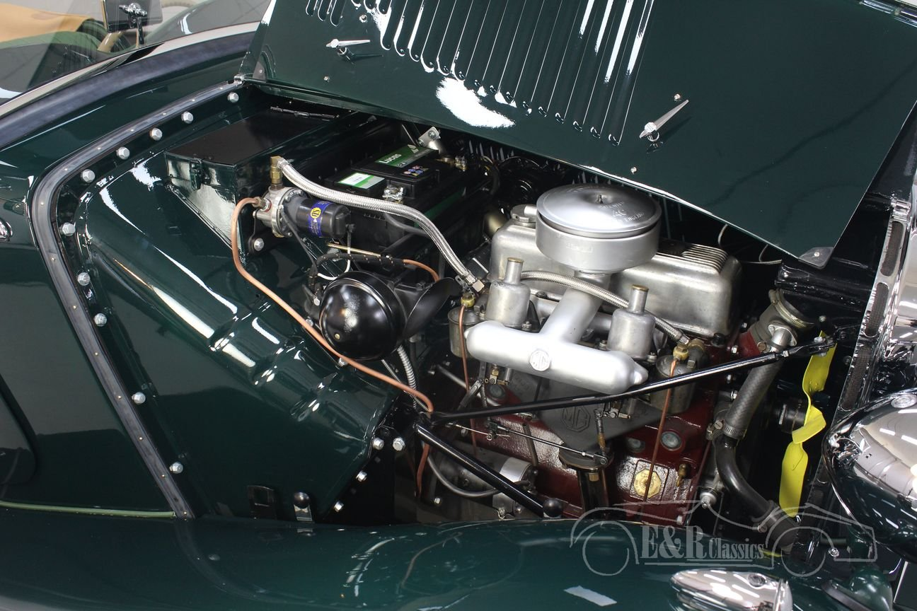 MG TD 1952 British Racing Green Restored For Sale (picture 4 of 6)