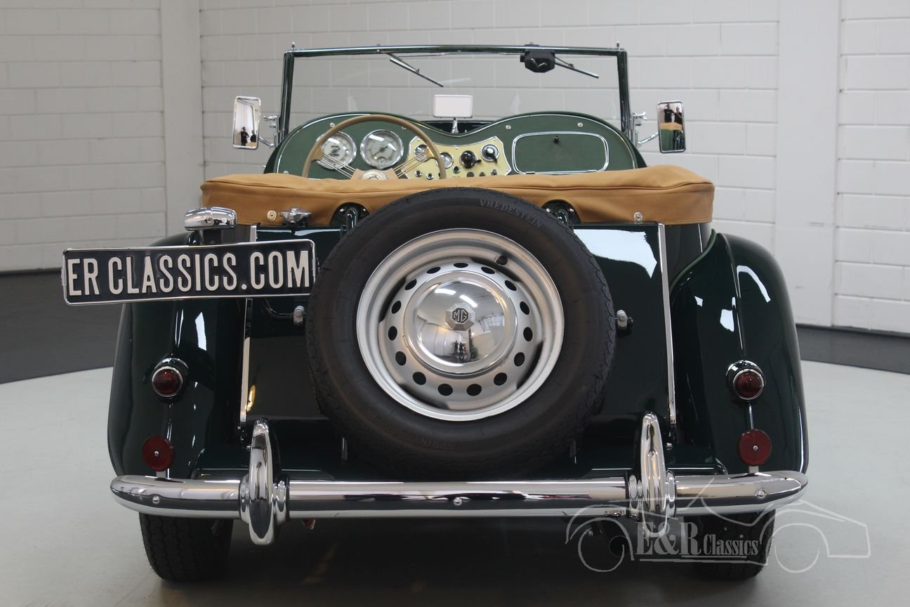 MG TD 1952 British Racing Green Restored For Sale (picture 6 of 6)