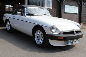 1977/S MG B ROADSTER WHITE MANUAL O/D SOLD