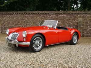 MG A 1500 Roadster TOP condition, bare-metal restored.