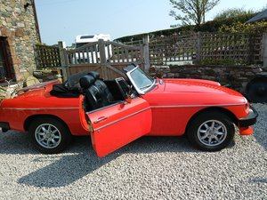 MG B Roadster 1980 For Sale