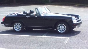 1980 mg midget in black For Sale