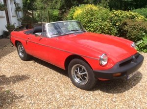 1976 MGB Roadster For Sale by Auction