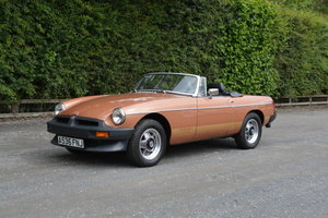 1980 MGB Roadster LE For Sale by Auction