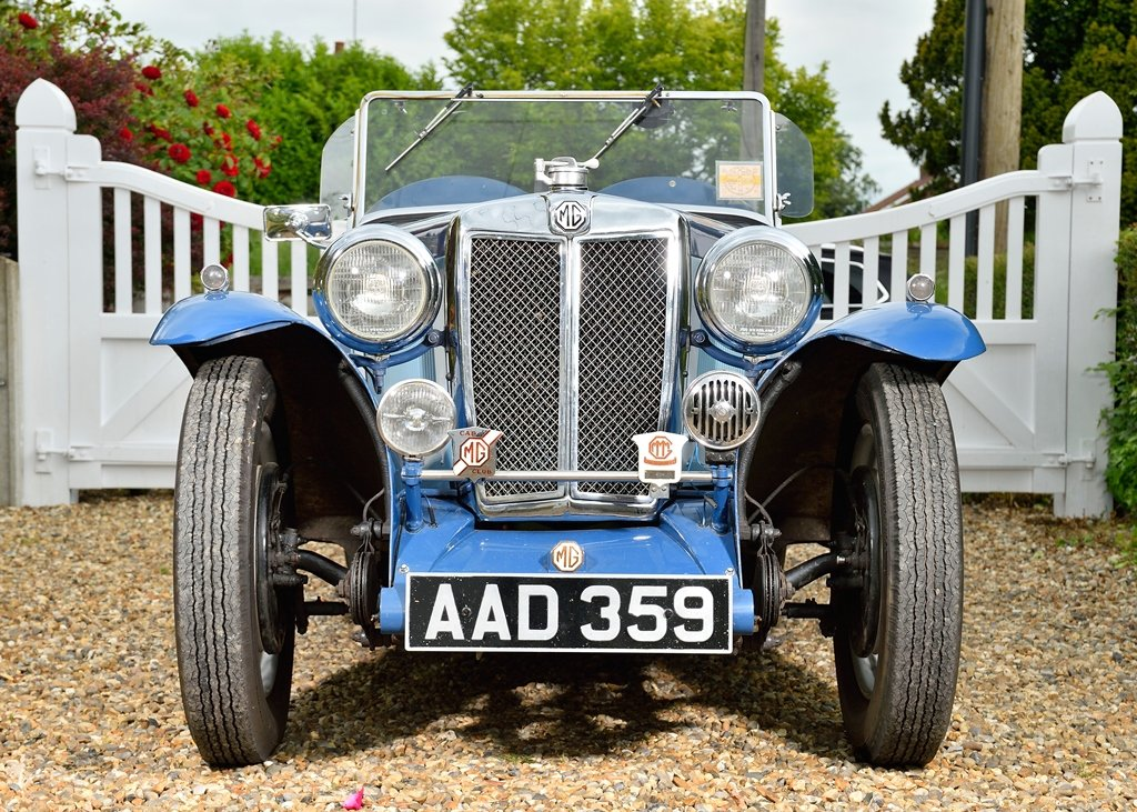 1934 MG NA Magnette SOLD by Auction (picture 1 of 6)