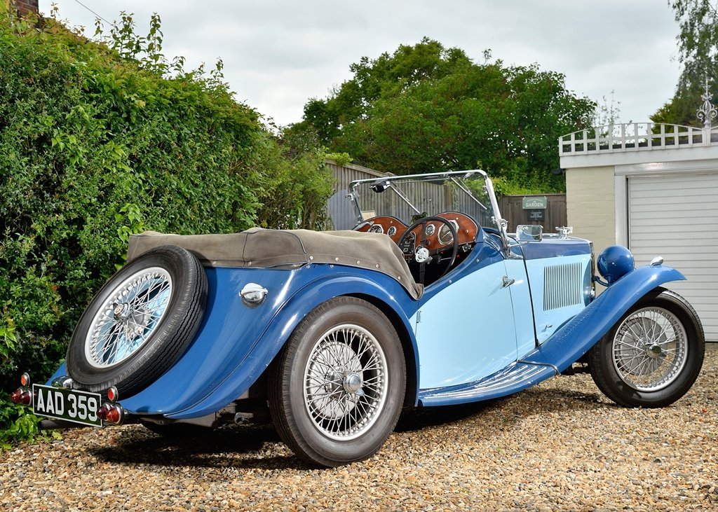 1934 MG NA Magnette SOLD by Auction (picture 2 of 6)