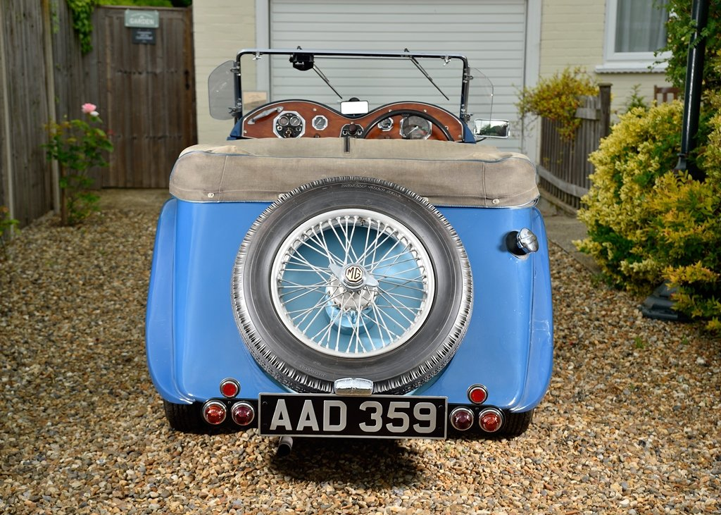 1934 MG NA Magnette SOLD by Auction (picture 3 of 6)