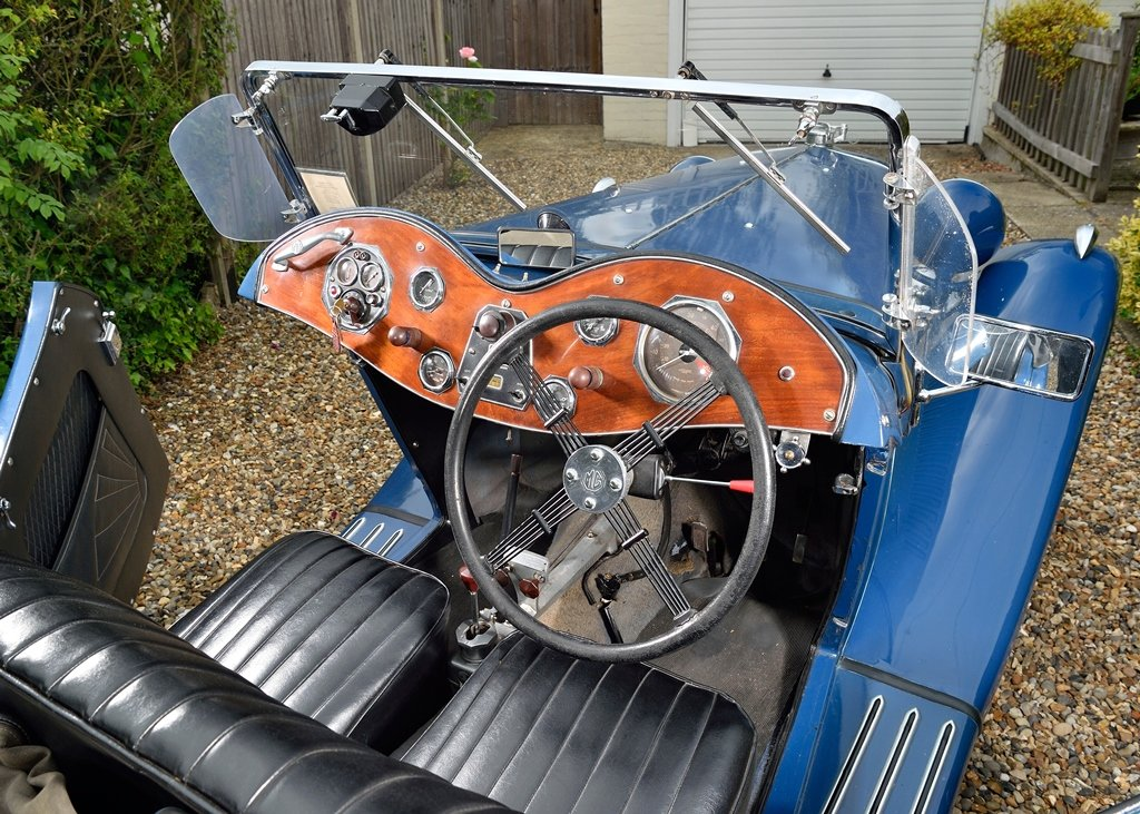 1934 MG NA Magnette SOLD by Auction (picture 4 of 6)