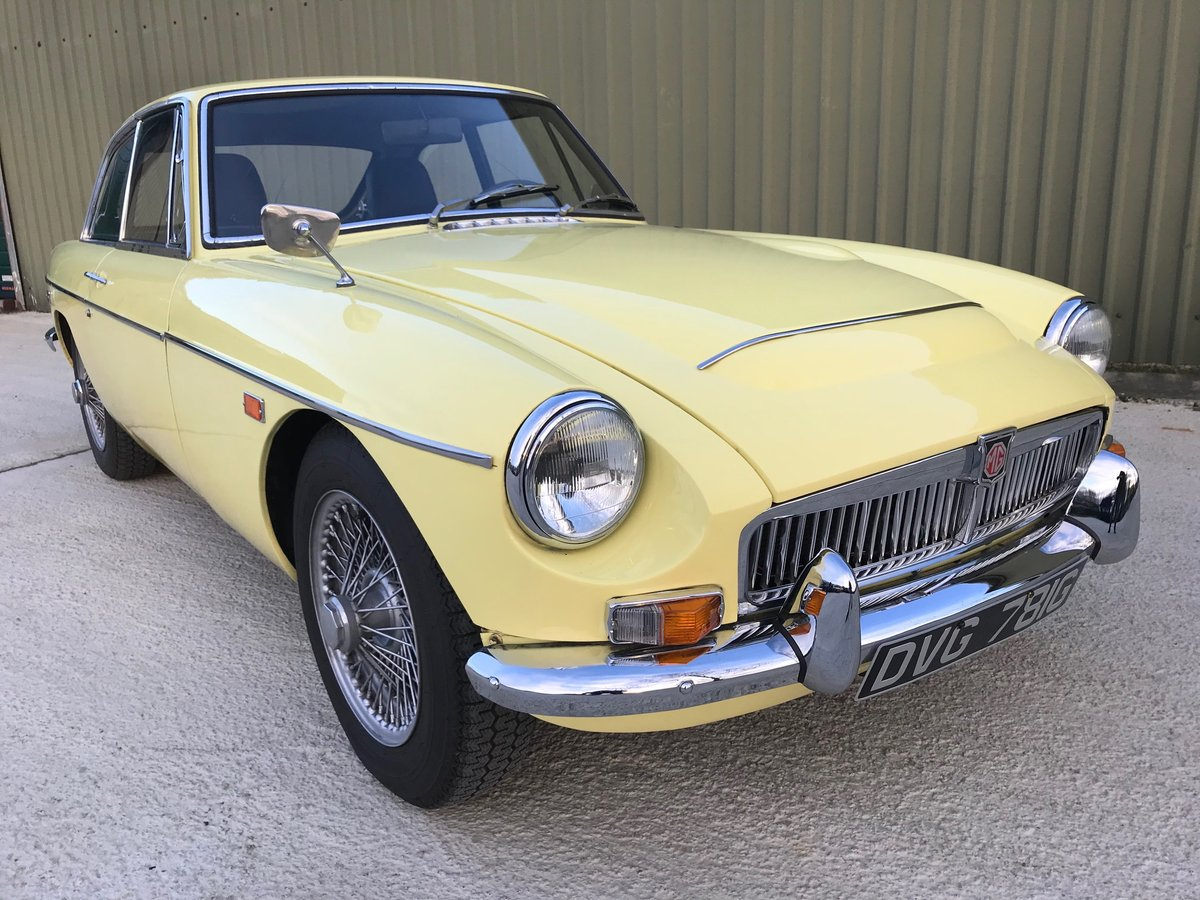 1969 MGC GT LHD recent significant detailed expenditure For Sale (picture 1 of 6)