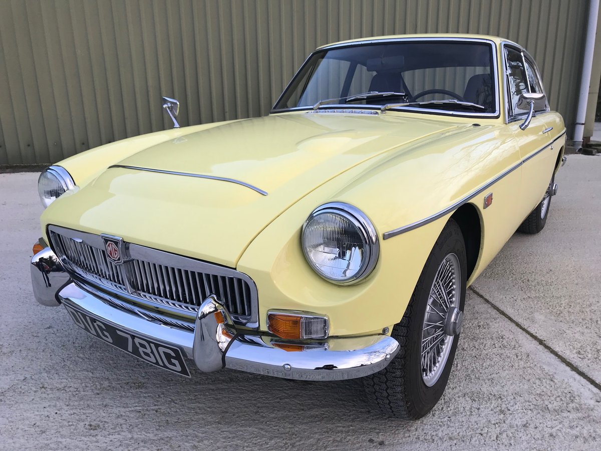 1969 MGC GT LHD recent significant detailed expenditure For Sale (picture 2 of 6)