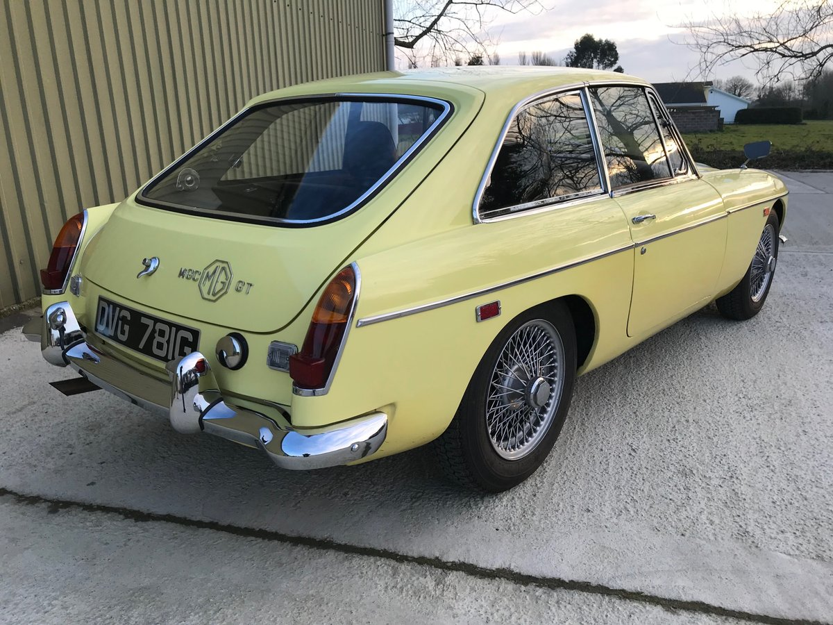 1969 MGC GT LHD recent significant detailed expenditure For Sale (picture 3 of 6)