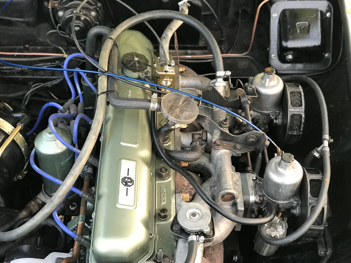 1969 MGC GT LHD recent significant detailed expenditure For Sale (picture 6 of 6)