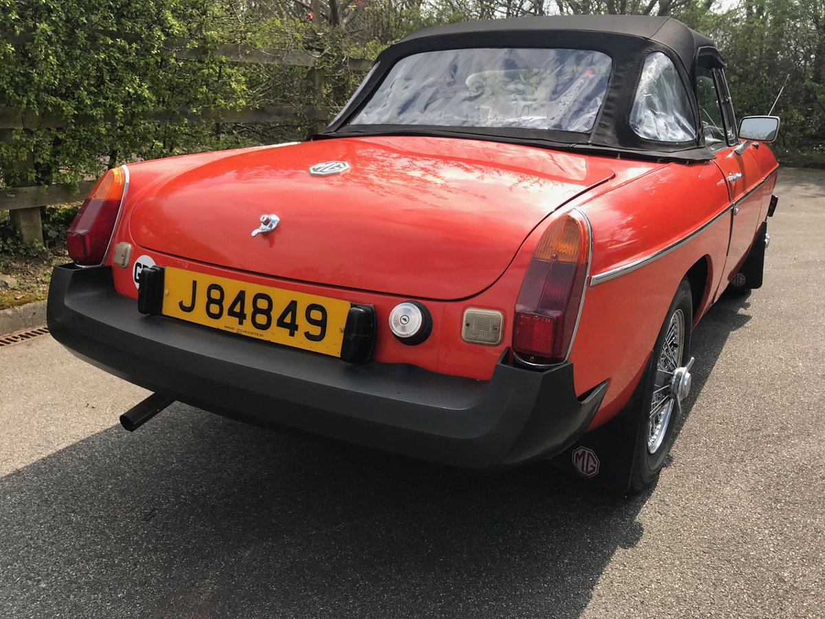 1975 MGB Roadster well maintained older restoration SOLD (picture 4 of 6)