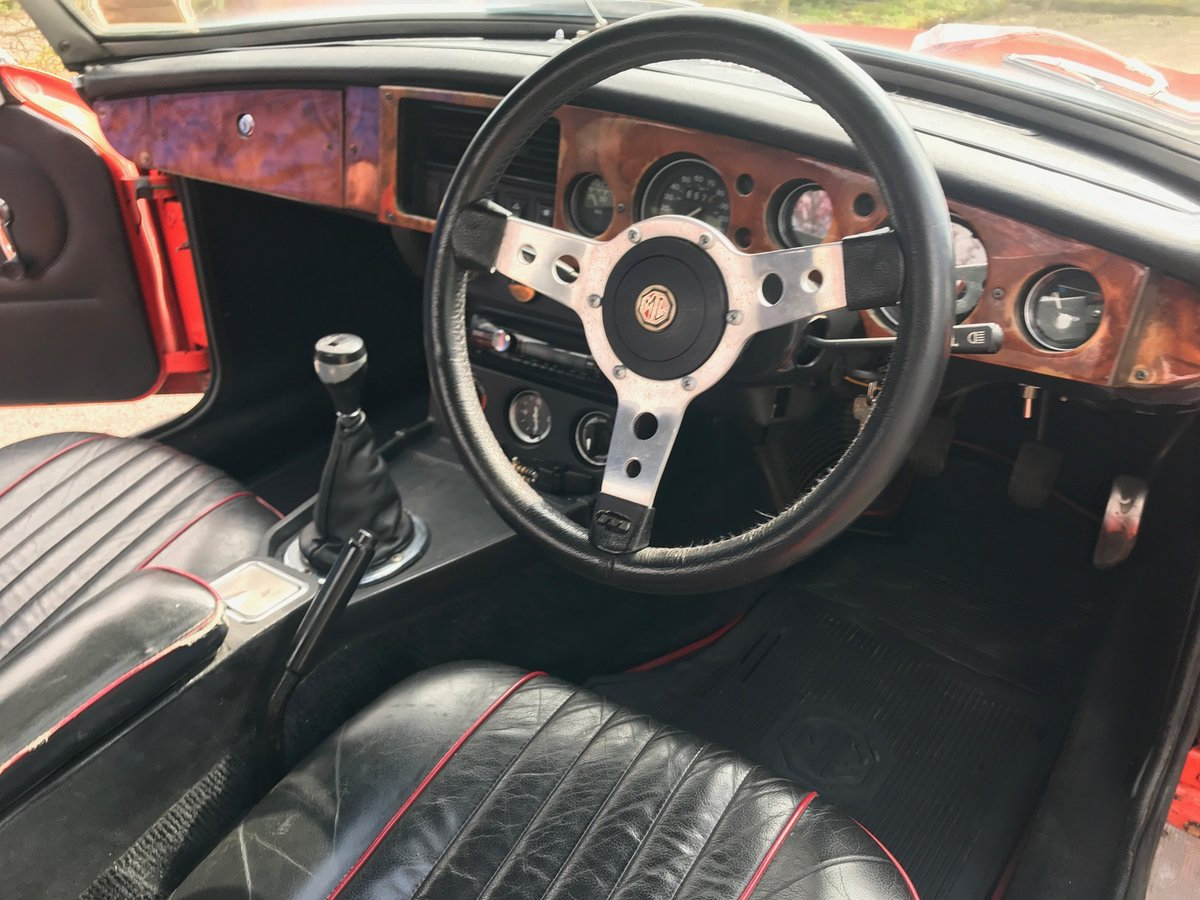1975 MGB Roadster well maintained older restoration SOLD (picture 5 of 6)