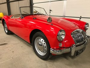 1956 MGA Roadster LHD.restored,rebuilt gearbox and just serviced For Sale
