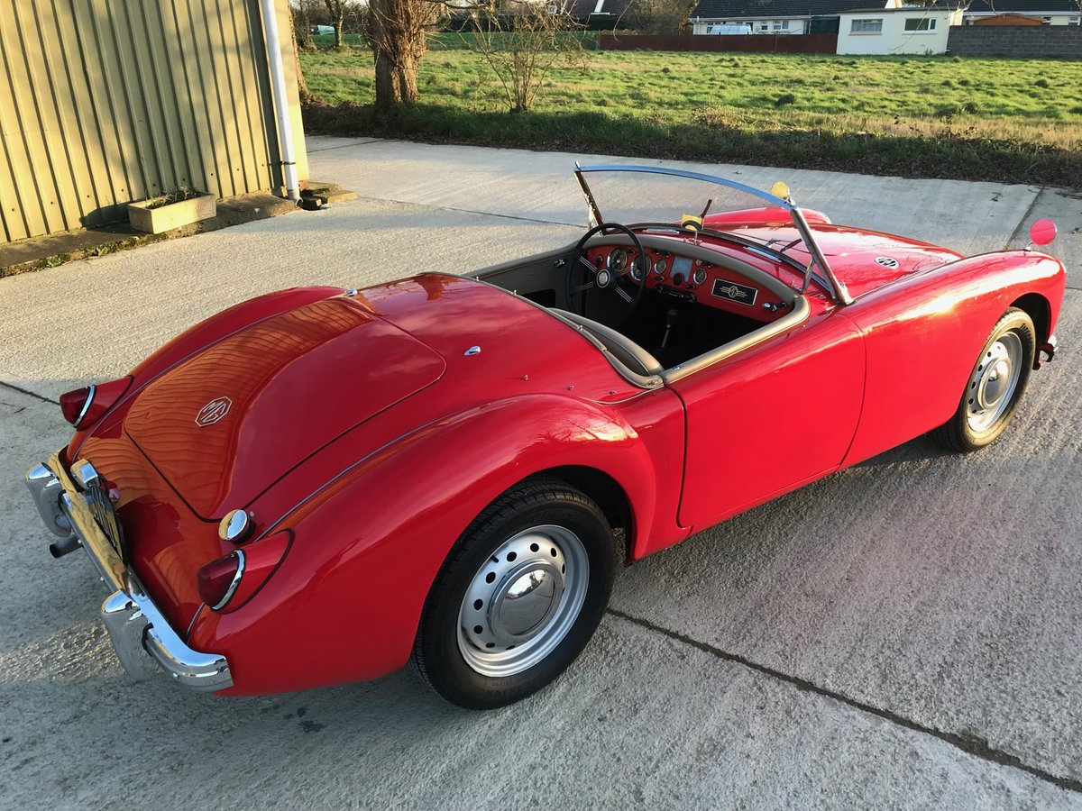 1956 MGA Roadster LHD.restored,rebuilt gearbox and just serviced For Sale (picture 3 of 6)